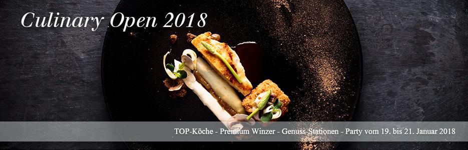 Culinary Open 2018