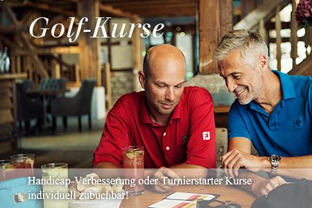 Golf Kurse mit den Pro's