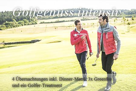Golfgenuss intensiv